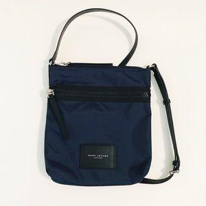 Marc Jacobs NS indigo Nylon Crossbody Bag Purse